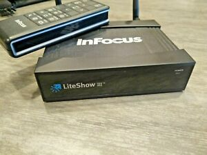 InFocus LiteShow III 3 Wireless Wifi Projection System for any VGA Projector