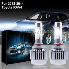 V8 120W 12800LM LED Car Headlight Conversion Kit Bulbs For 2013-2014 Toyota RAV4