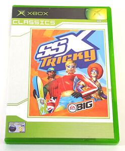 Xbox Classics SSX Tricky EA Sports Big Disc & Manual PAL 030CA