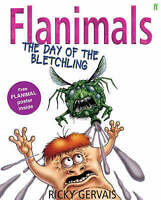 Flanimals: The Day of the Bletchling by Ricky Gervais, Good Used Book (Hardcover