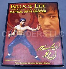 Bruce Lee Tribute Collection Martial Art Master LE Cold Cast Statue Planet Earth