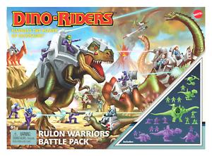 Dino-Riders Rulon Warriors Battle Pack - Exclusive mattel