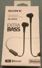 Sony WI-XB400 Extra Bass Wireless In-Ear Headphones With Mic-Bluetooth Black