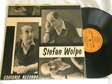 STEFAN WOLPE Passacaglia Al Cohn Frances Magnes David Tudor Esoteric stereo LP