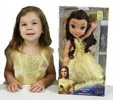 """Disney Beauty And The Beast Belle Toddler Bambola, Bambola gigante 15"""" 38 cm miglior prezzo!"""