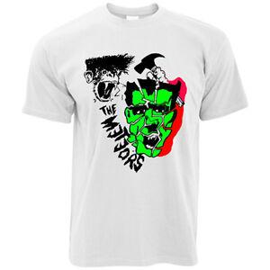 The Meteors t-shirt 100% cotton rockabilly psychobilly guana batz king kurt punk