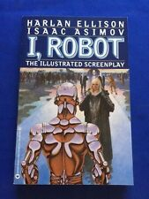 I, ROBOT: THE ILLUSTRATED SCREENPLAY - FIRST EDITION SIGNED BY HARLAN ELLISON