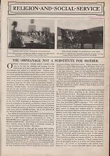 The Orphanage is Not A Substitute For Mother 1925 - Chapin,Coler,Pope,Reeder