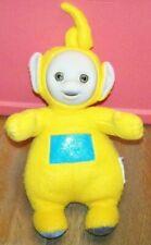 """Teletubbies Plush Yellow LAA LAA  ~ 13"""" Tall to Top of Antenna ~ 1998 Hasbro"""