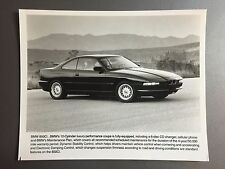 1996 BMW 850Ci 12 Cylinder Coupe Factory Press Photo, Foto RARE!! Awesome L@@K