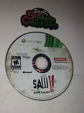 Saw II: Flesh & Blood XBOX 360  Saw 2   GAME DISC ONLY