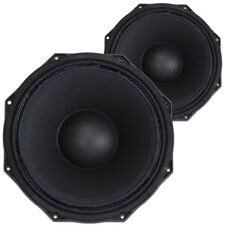 """2x Citronic 12"""" Speaker Replacement Drivers Spare Components Parts 1800w"""
