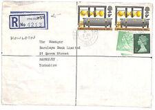 AJ36 1972 GB Used Abroad HONG KONG British Forces *KOWLOON* Registered Machin E
