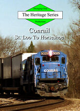 Train DVD: Conrail in the 1990s - St. Louis to Horseshoe Curve