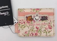 Loungefly Disney Aristocats Floral Kitties Marie Cardholder ID Slim Wallet