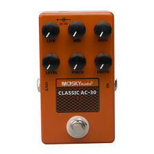 CLASSIC AC-30 Speaker AMP Simulation Drive Voice Level Mosky Guitar Effect Pedal
