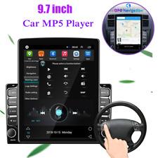 "HD 9.7"" 2.5D Vertical Screen Car MP5 Player Android 8.1 Navigation Wifi GPS IOS"