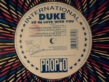 "DUKE So in love with you 12"" ITALY PIZZAMAN BAFFA"
