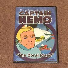 Captain Nemo: The Coral Maze (DVD, Movie, Children's, Animation, Slim Case) New