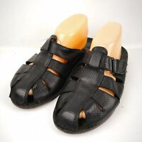 Easy Spirit Womens Black Slippers Size 10M (3863)