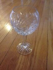 "Waterford Crystal 7 3/8"" PALLAS Balloon Claret Wine Goblets"