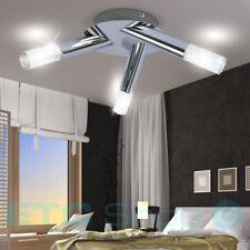LED Lampe de plafond bureau bureau luft-blasen Lampe Chrome Rond EEK A+ Wofi
