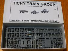 Tichy Train Group HO #4011 Maintenance - Work Train Equipment (Plastic Kit)