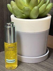 NEW Algenist GENIUS Liquid Collagen Serum Travel Size 0.21 oz / 6.2ml  NWOB