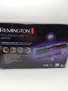 REMINGTON HOT HAIR BRUSH VOLUME & CURL CERAMIC TOURMALINE IONIC AIR STYLER NEW