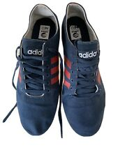 Adidas Neo Men's Blue Canvas Uk 12.5 Trainers