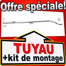 Tuyau Intermédiaire FIAT GRANDE PUNTO 1.2 65CH dés 09.2005 échappement MMR