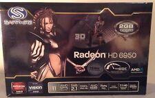 Sapphire AMD Radeon HD 6950 Graphics Card. 2GB GDDR5. EUC.