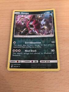 Pokemon Card Rev Holo Hoopa 140/236 Inc Free Card Deal