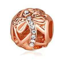 Silver Charms Spacer Fashion Wholesale CZ European Fit European Bracelet