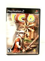 ICO (Sony PlayStation 2 PS2, 2001) Complete CIB 9 /10 Exceptional Condition ! !