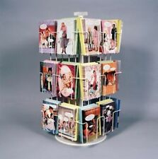 """24Pkt Spinning Greeting Card 5x7 Display Rack 5 3/8"""" Made In Usa"""