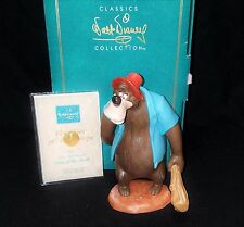 """NEW WDCC figure """"DUH"""" Song of the South Brer Bear ship Worldwide NIB COA PERFECT"""