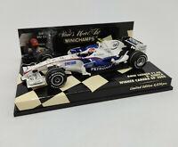MINICHAMPS 1/43 - BMW Sauber F1 08 R. Kubica WINNER CANADA GP 2008 400080104
