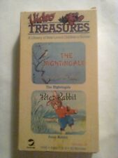 Video Treasures The Nightingale: A Chinese Folk Tale & Peter Rabbit VHS cartoons