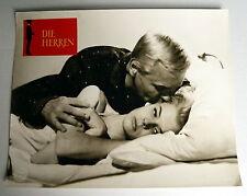 DIE HERREN * Peter van Eyck, Letitia Roman - EA-Aushangfoto #31 German  LC -1965