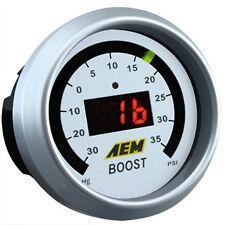 AEM 52mm Digital 35 psi Electronic Boost Gauge Civic Integra EG DC EK 30-4406