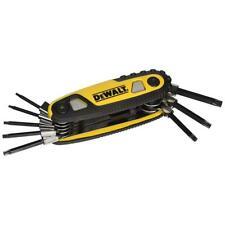 DeWALT DWHT70264 Ergonomic Solid Steel Star Locking Hex Key Set, 8pc