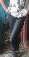 Willow Lamb Leather Pants/Leggings Sz 10/12