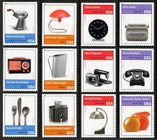 USA Sc. 4546 (44c) Industrial Design Pioneers 2011 MNH 12 singles