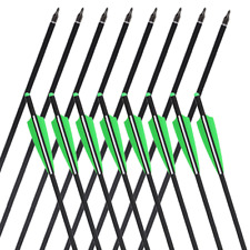 """20""""/22'' Crossbow Bolts Carbon Arrows for Archery Hunting Train Express Bolt US"""