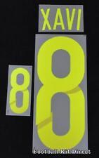 España Xavi 8 Copa del Mundo 2014 Camiseta de fútbol nombre establecido lejos Sporting Id
