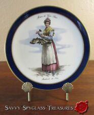 Schumann Metiers du Vieux  Paris Marchande de Noix Old Paris Porcelain Plate