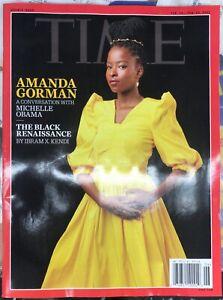 TIME MAGAZINE-FEB 15-22, 2021-AMANDA GORMAN-THE BLACK RENAISSANCE-BRAND NEW