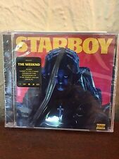 The Weeknd - Starboy CD (Explicit Version) - NEW and SEALED - *crack in case