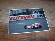 Photo / Photograph  Gil de Ferran PENSKE Honda California Speedway 2000 //